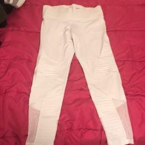 Victoria's Secret Pink white leggings